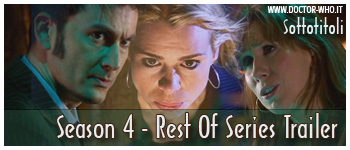 Doctor Who sottotitoli - Rest Of Series Trailer