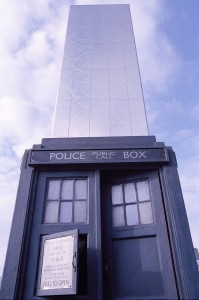 The TARDIS in Cardiff