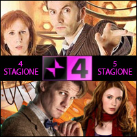 Doctor Who - Quarta e quinta stagione su Rai 4