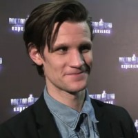 Matt Smith alla Doctor Who Experience.