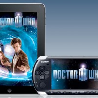 Doctor Who su iPad e PSP.