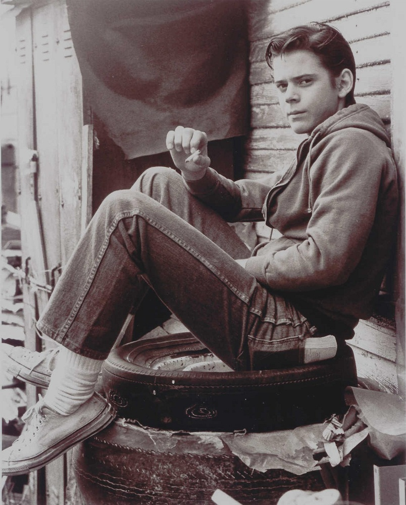 Thomas Howell A... C. Thomas Howell In The Outsiders