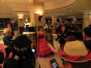 Dalek, Ace, River, Amy, Dottori, di tutto, di pi!