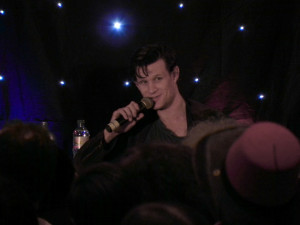 Matt Smith durante il guest talk