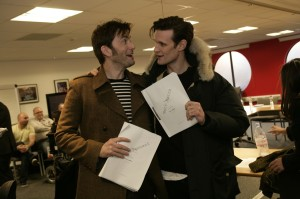 David Tennant e Matt Smith