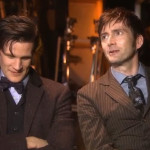 Video di Matt Smith con David Tennant