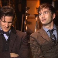 Matt Smith e David Tennant