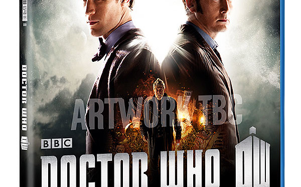 "Blu-ray e DVD di ""The Day of the Doctor"""