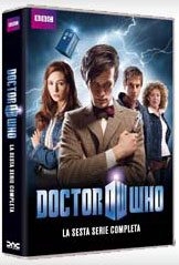 DVD sesta stagione Doctor Who