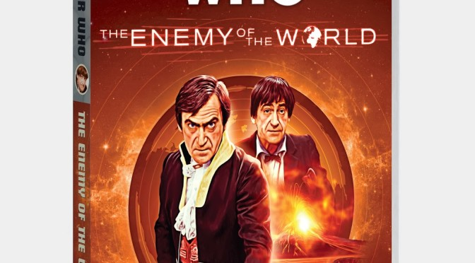 "DVD di ""The Enemy of the World"""