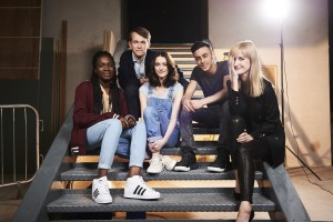 Vivian Oparah, Greg Austin, Sophie Hopkins, Fady Elsayed, Katherine Kelly - (C) BBC - Photographer: Ray Burmiston