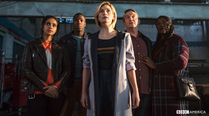 11×01 – The Woman Who Fell to Earth