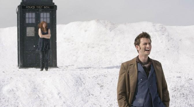 Il Dottore e Donna sul pianeta degli Ood.