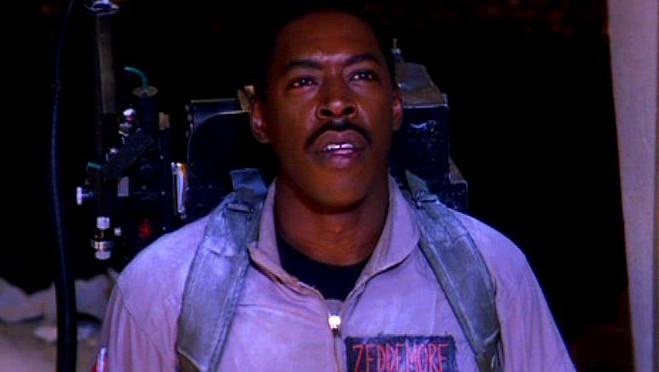 Ernie Hudson in Ghostbusters.