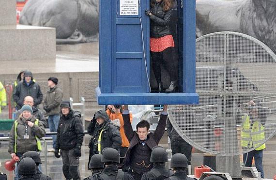 Riprese di Doctor Who a Londra