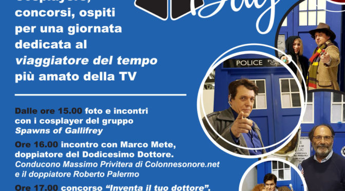 Doctor Who Day a Milano